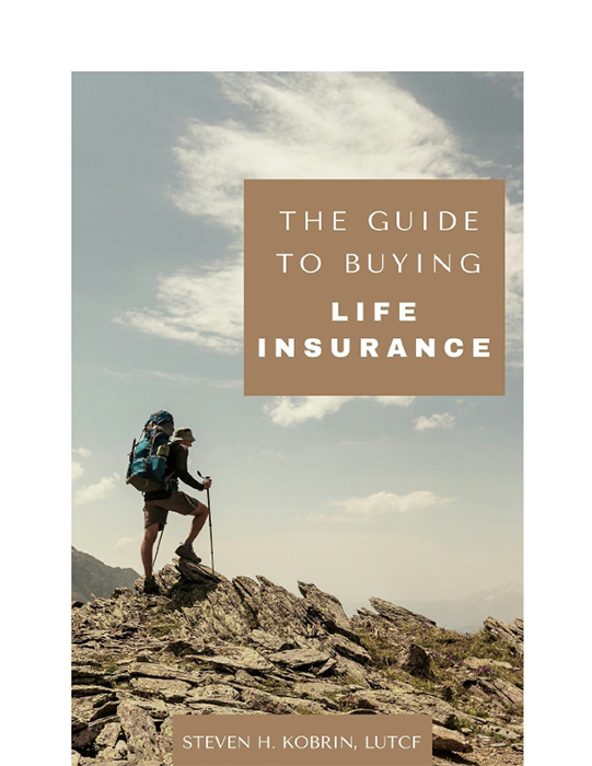 Buying life insurance ebook cover